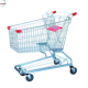 Factory powder coated american 210L shopping trolley,shopping cart