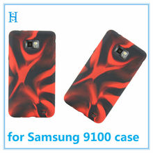 Creative Plastic Phone Case For Samsung Galaxy S2 II i9100 Rose Red