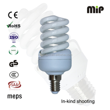 Full spiral T2 15W E14 6500K Energy saving lamp bulb