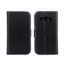 High quality carbon fiber phone flip case cover for samsung galaxy ace 3 s7270