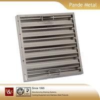 Factory made high quality kitchen canopy filter