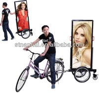 J4B-077 Hot sell bikes used for advertising with high bright LED light