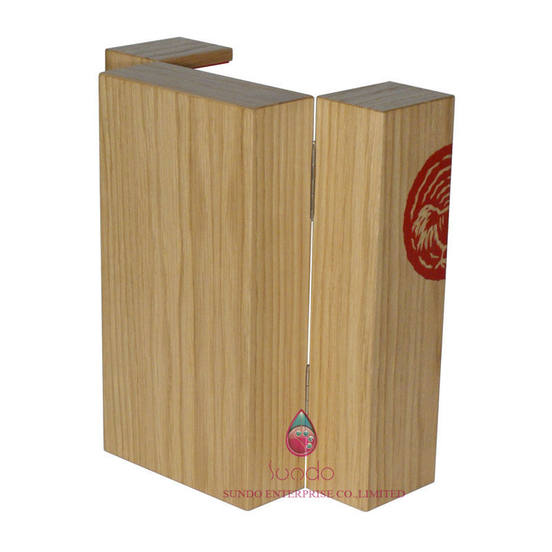 wooden wine bottle carrying case by china manufactory