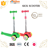 New design Fodling Kids Three Wheels Kick Scooter For Sale