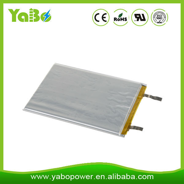 383562 lipo battery 3.7V 800mAh lithium polymer battery cell with PCB protected and connector