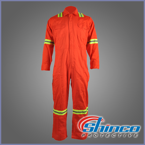 Oil refinery work wear