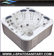 Modern International Popular Wanna Outdoor Spa Bathtub Badkuip Acrylic Hot Tub with CE,TUV Certification