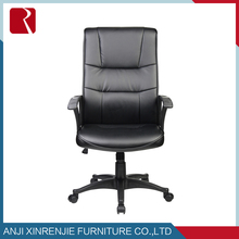 5187 modern design swivel leather office Fancy office /middle back manager chair with iron frame