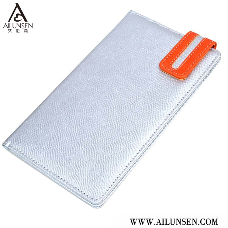 PU Leather Airline Ticket Holder For Promotional
