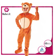 Used halloween costumes sale onepiece teddy bear mascot costume for party