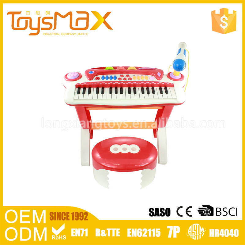 China Import Toys Novel Toy Musical Instruments Light 49 Keys Musical Keyboard