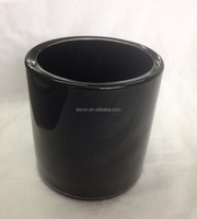 WHOLESALE BLACK GLASS CANDLE HOLDER