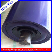 4 inch diameter steel carrying cylinder conveyor transition roller