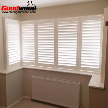 Decorative Interior Pvc Window Shutter, Pvc Plantation Shutter