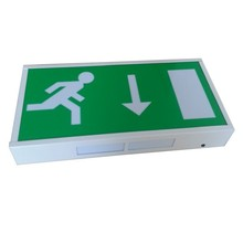 Double Side 3W Led Emergency Exit Sign Board