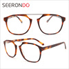 SEERONDO Men Acetate Eyeglasses With Custom