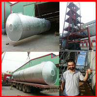Base oil output with Stainless steel to recycle used waste engine oil for sale