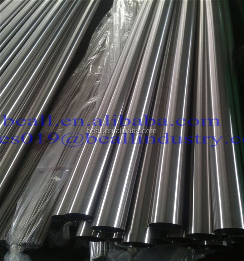 Cold Rolled Stainless Steel Heat Exchanger Tube 1.4404 1.4571 1.4438