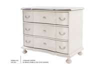 3 Drawer Chester in French Finish and Old Style