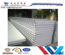 EPS Sandwich Panel punched steel belt on two sides with Aluminum accessory export to Australia