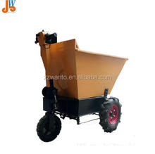 Electric lifting cart for vegetable greenhouse/Electric four wheel flatbed truck