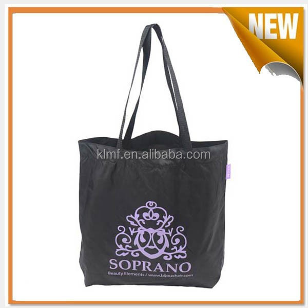 Durable tote pvc coated cotton shopping bag