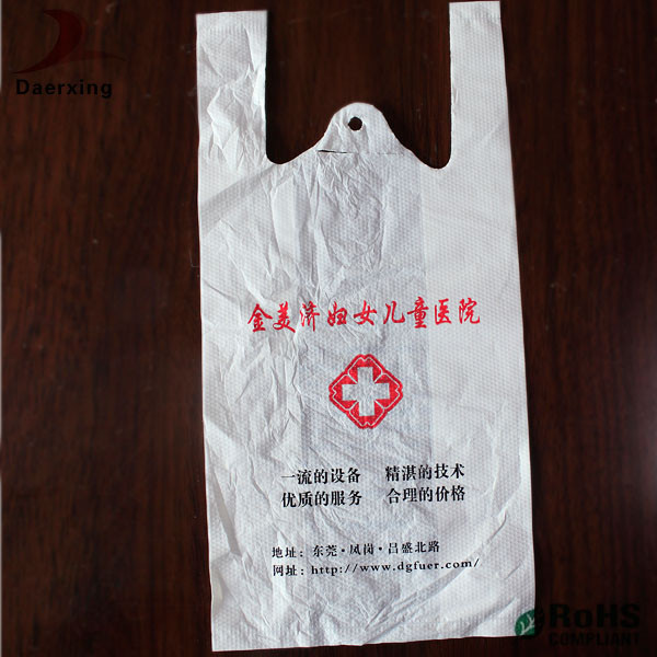 White small plastic bags for drugs