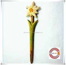 top selling promotional (flower, dog, horse) ball point wooden ball pen