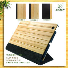 Top quality bamboo cover case for ipad 2 3,for ipad cover case,for ipad case cover