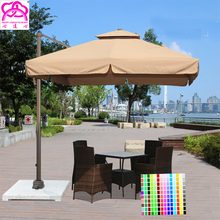 3m*3m High quality new style parasol umbrella outdoor patio umbrella , garden umbrella with best service