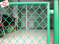 galvanized chain link security fence for garden/pvc coated chain link Cheap fencing