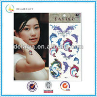 Popular temporary kid tattoo sticker for body art