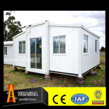 Luxury latest design prefabricated container bungalow for sale