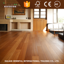 AB grading Burma teak hardwax oiled engineered wood flooring