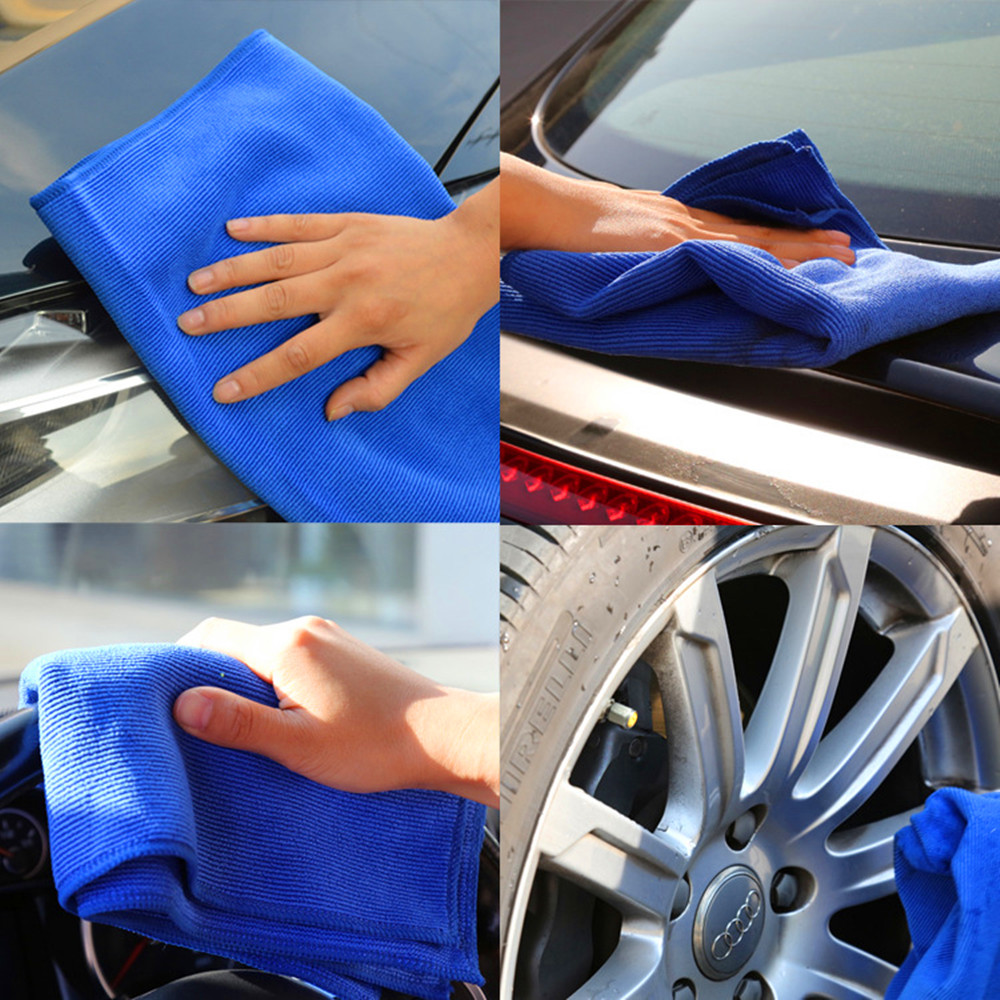 suzhou personalized microfiber cleaning cloths car cleaning wash towel