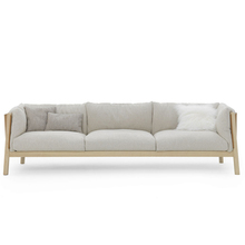 CH438 Fabric sofa YAK SOFA 3 SEATER IN LIVING ROOM