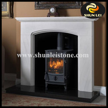 The stone material office moulding decorative fireplace
