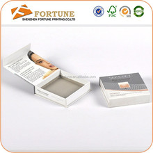 Custom Printed Folding Skin care products Packaging Box, Cosmetic Paper Box For Sale