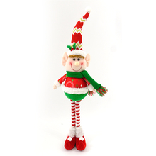 42CM christmas elf standing decoration wholesale