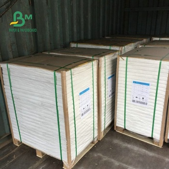 Oil proof White Kraft Paper Coils Coated With PE Material For Packing Food