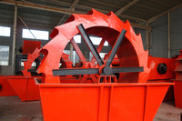 ISO Approved sand washing machine with low price /huahong sand washing machine