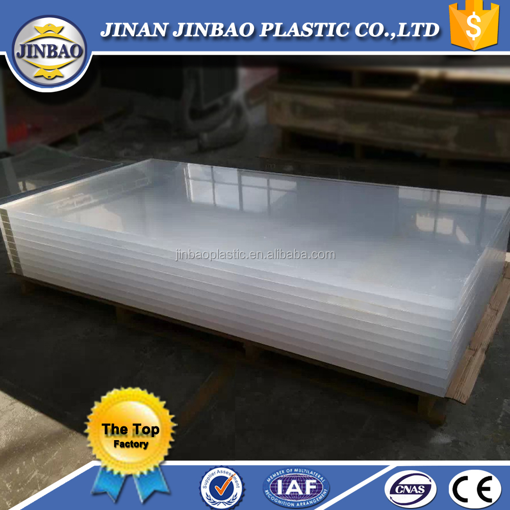 JINBAO wholesale 100% virgin lucite high gloss clear plastic acrylic sheet