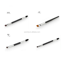 #7 #12 #15 #20 double side makeup brush brow eyeliner lip eyelash brush