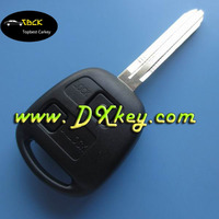 Transponder car key/ remote key for Toyota prado remote key/toyota land cruiser key 2 button