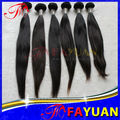 Fast delivery!!l One Donor Guangzhou Brazilian Hair.Raw Virgin straight malaysian hair wholesale