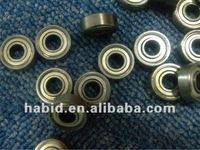 small metal shielded 696zz deep groove ball bearing