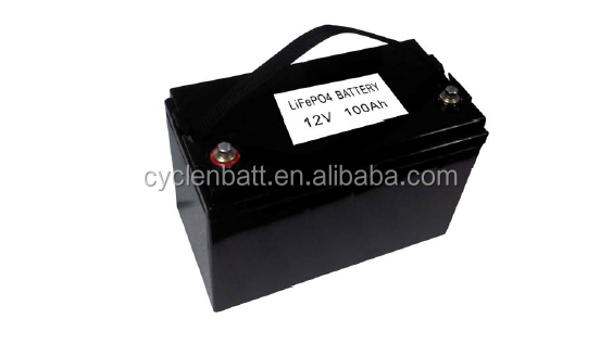 12v 100ah battery good discharge performance 26650 cheap lifepo4 18650 battery pack for solar powered street light