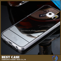 Luxury Mirror Case Cover For Samsung Galaxy S5 TPU Soft Gel Back Case