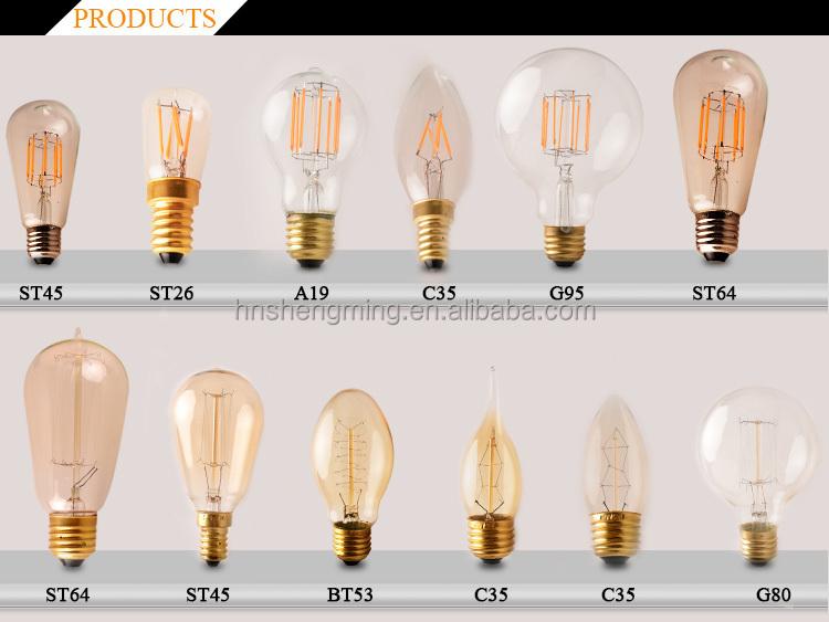 Retro Led Edison Bulb 4w Led Vintage Edison Filament Light ...