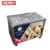 USA standard fried ice cream machine with 6 topingkit meet